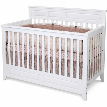 Child Craft Logan Convertible Crib in Matte White