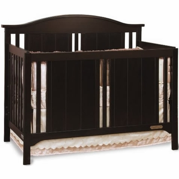 Child Craft Watterson Convertible Crib in Jamocha