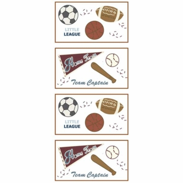 CoCaLo Sports Fan Removable Wall Appliques