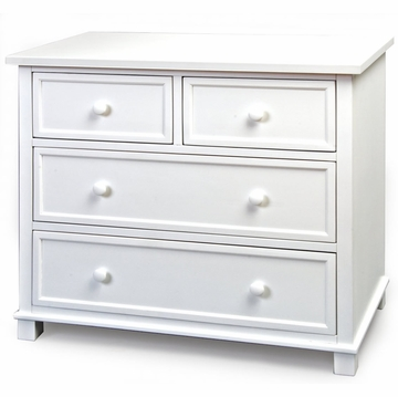 Child Craft Single Dresser in Matte White