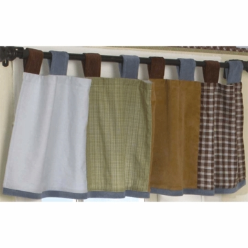 CoCaLo Sports Fan Window Valance
