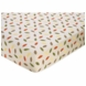 Sweet JoJo Designs Forest Friends Crib Sheet in Leaf Print