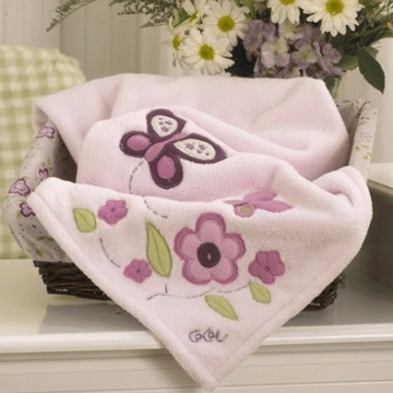 CoCaLo Sugar Plum Sherpa Blanket