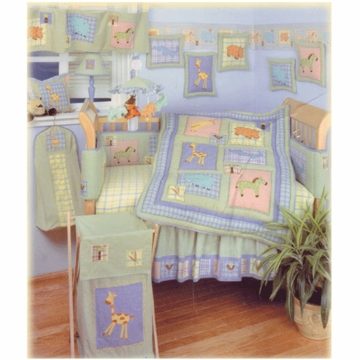 KidsLine Malawi 6 Piece Crib Bedding Set