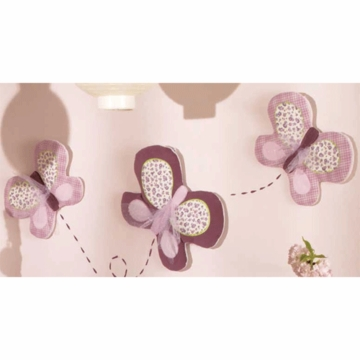 CoCaLo Sugar Plum Wall Hanging- 3 Pack