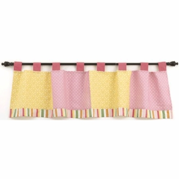 CoCo & Company Alphabet Sweeties Window Valance
