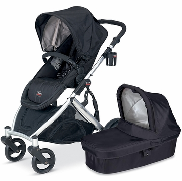 Britax B-Ready 2012 with Bassinet - Black/Black