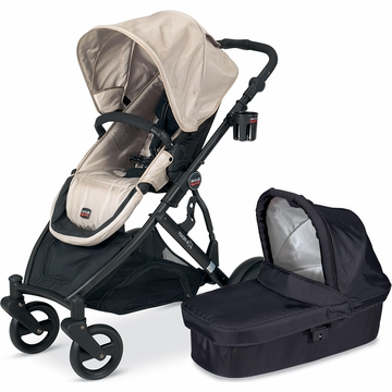 Britax B-Ready 2012 with Bassinet - Twilight/Black