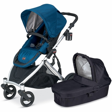 Britax B-Ready 2012 with Bassinet - Navy/Black