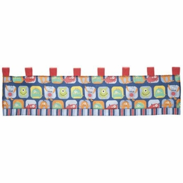 CoCo & Company Monster Buds Window Valance