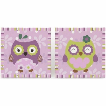 CoCo & Company Owl Wonderland 2 Piece Wall Art