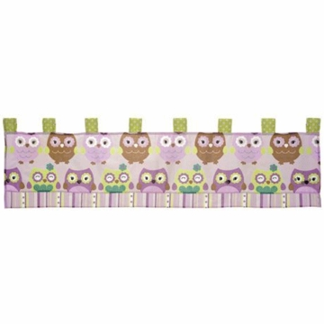 CoCo & Company Owl Wonderland Window Valance