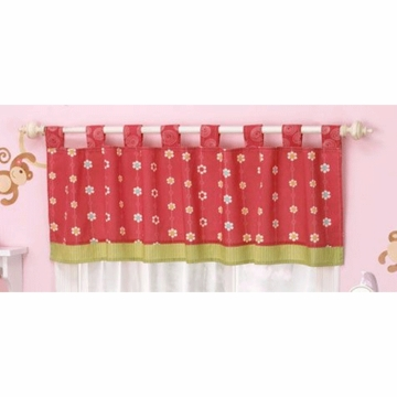 CoCo & Company Melanie the Monkey Window Valance