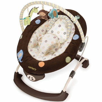 Carters Safari Friends Bouncer by Summer Infant
