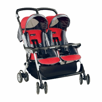Peg Perego - 2005 Aria Twin MT Stroller in Metallica
