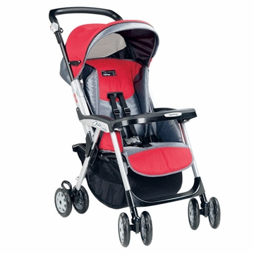 Peg Perego Aria MT Single Stroller 2005 Metallica