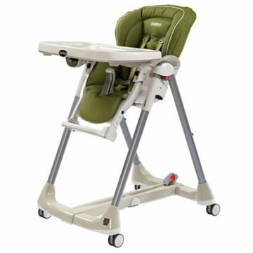 Peg Perego 2009 Prima Pappa Diner Best High Chair in Leaf Green