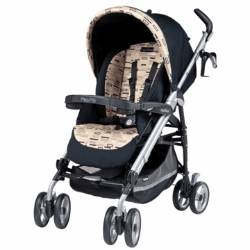 Peg Perego 2009 Pliko P3 Stroller in Black Step