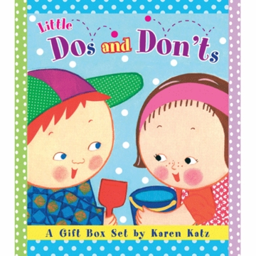 Karen Katz Little Dos and Don'ts a Gift Set