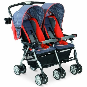 Combi Twin Sport Stroller - Sunset Scribble