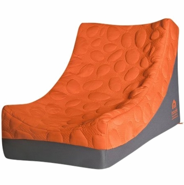 Nook Pebble Lounger - Poppy