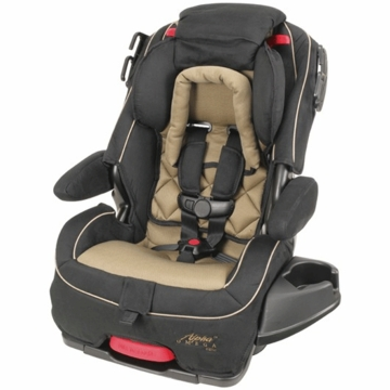 Cosco Alpha Omega Elite 3-in-1 Car Seat in HTR