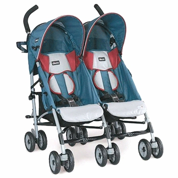 Chicco C5 Lightweight Twin Double Stroller in Sydney
