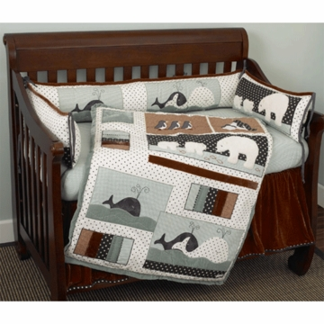 Cotton Tale Design Arctic Babies 4 Piece Crib Bedding Set