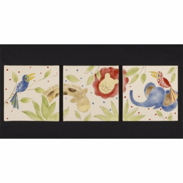 Cotton Tale Designs Animal Track Wall Hanging