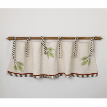 Cotton Tale Designs Animal Track Window Valance