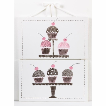 Cotton Tale Designs N. Selby Cupcake Wall Art