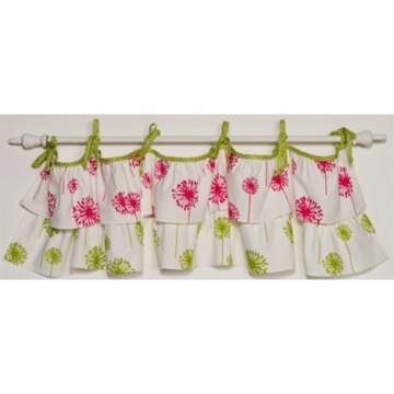 Cotton Tale Designs N. Selby Hottsie Dottsie Window Valance