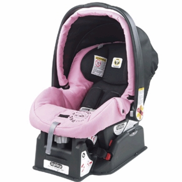 Peg Perego Primo Viaggio SIP Infant Car Seat 2007 Rose Pink Fabric