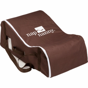 Nap Nanny Travel Bag in Chocolate