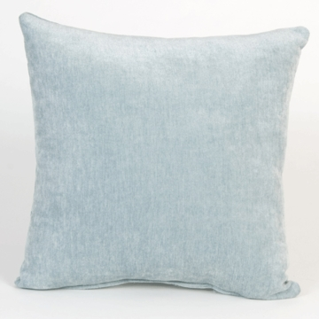 Glenna Jean Central Park Solid Blue Pillow