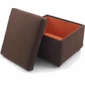 Monte Design Alto Ottoman in Brown