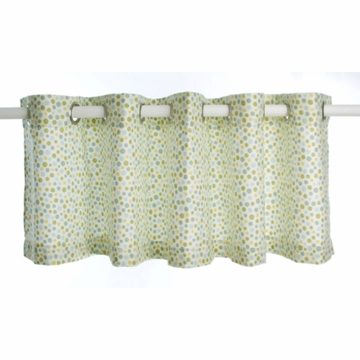 Glenna Jean Finley Dots Window Valance