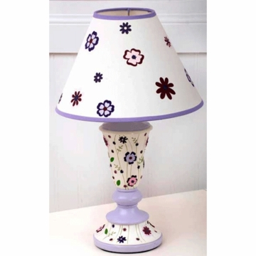 KidsLine Mulberry Lamp Base and Shade