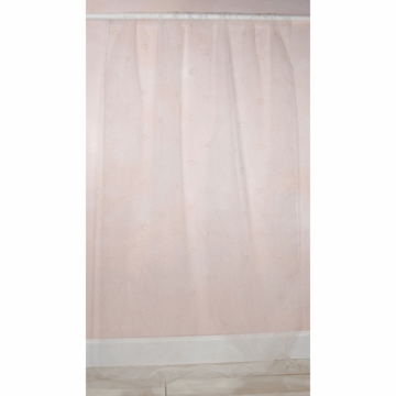 Glenna Jean Madison Sheer Window Panel with Star Cut Outs