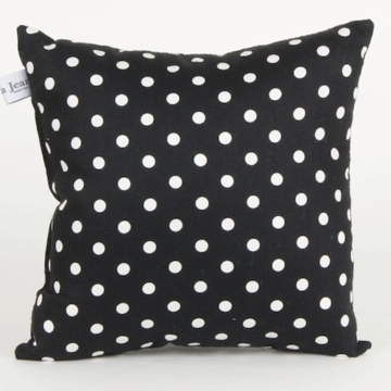 Glenna Jean McKenzie Black Dot Pillow