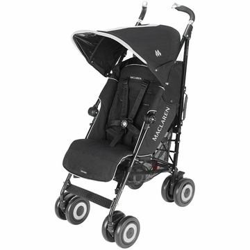 Maclaren Techno XT Stroller in Black on Black