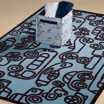Kids Line Round and Round Rug by notNeutral