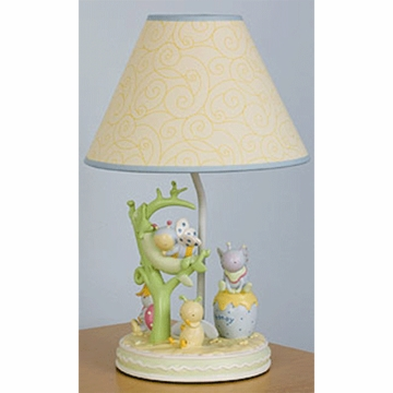 KidsLine Snug As A Bug Lamp Base with Shade