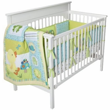 Kids Line Tiddliwinks In The Pond 3 Piece Bed Set