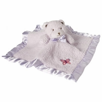 Kids Line Tiddliwinks Plum Butterfly Security Blanket