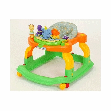 Graco Mobile Entertainer Walker 4A00JCR in Jungle Crew