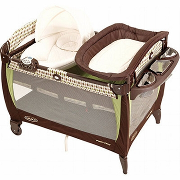 Graco Pack 'n Play Playard with Newborn Napper Station - Brunswick (2011)