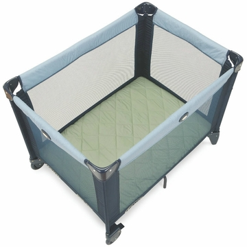 Graco Quilted Pack 'n Play Sheet in Sage