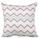 Glenna Jean Bella and Friends Throw Pillow - Zig Zag Stripe