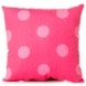 Sweet Potato Addison Throw Pillow in Pink Dot